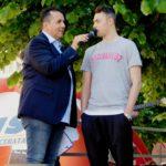 """Il """"mossiere"""" Felicioli, giocatore del Milan"""