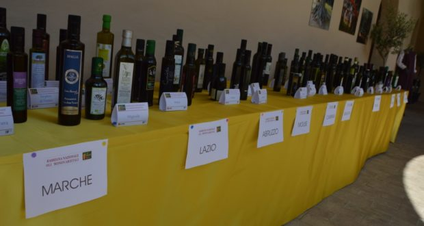 Gli oli presenti alla Rassegna nazionale di San Severino