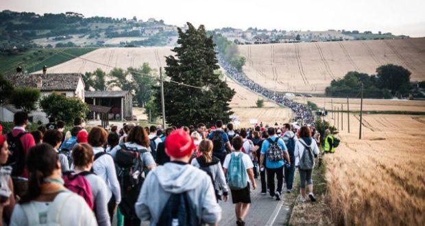 Pellegrinaggio a piedi da Macerata a Loreto