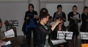 Morena Rinaldi dirige il Coro