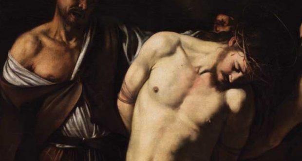 Flagellazione, opera di Caravaggio (Museo nazionale, Napoli)