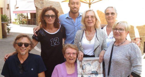 Le rappresentanti della Fondazione accolte a San Severino