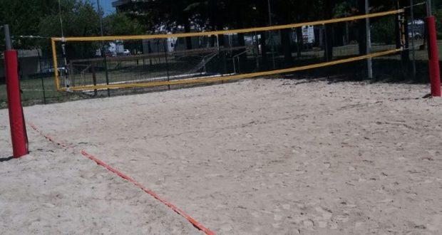 S'inaugura il nuovo campo da beach volley