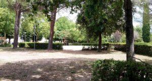 L'area destinata ad accogliere i moduli scolastici