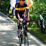 La frazione in bici