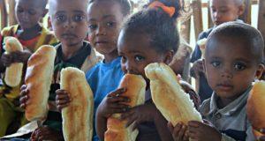 Bambini etiopi a Lenda