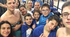 Giovani atleti del BluGallery Team