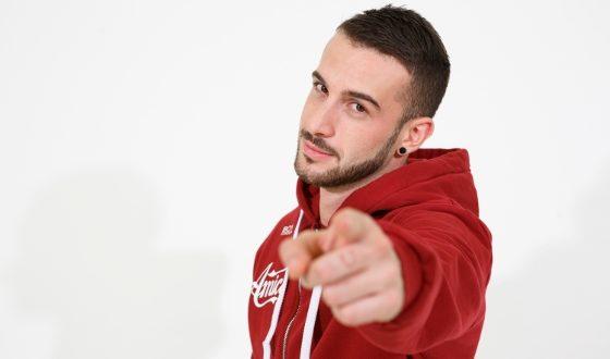 """Andreas Muller, vincitore di """"Amici 2017"""""""