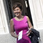 Paola De Micheli, nuovo commissario straordinario alla ricostruzione delle aree colpite dal terremoto del Centro Italia del 2016, Roma, 8 settembre 2017 ANSA/MASSIMO PERCOSSI