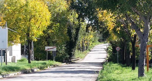 Il ponte lungo la strada che collega Taccoli e Colotto