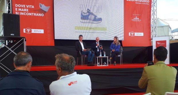 Oliviero Carducci al Salone nautico di Genova