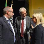 Il ministro De Vincenti al cineteatro Italia