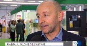 Marco Crescenzi intervistato dal Tg3 della Rai regionale delle Marche
