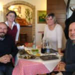 """Zichittella """"rapito"""" dalle specialità locali portate in tavola dall'agriturismo """"Le Borgianelle"""""""