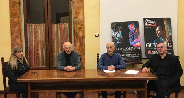 Mauro Binci, direttore artistico del Festival, durante la conferenza stampa organizzata a Macerata