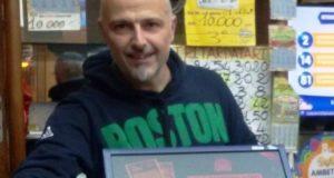 Giuseppe Petinari, titolare della ricevitoria