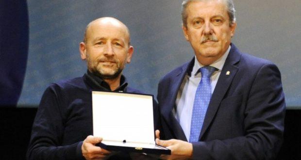 Il presidente Marco Crescenzi con Enzo Casadidio, neo presidente nazionale della Figest