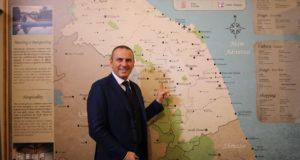 """Sandro Teloni presenta il progetto """"Villas in Italy"""""""