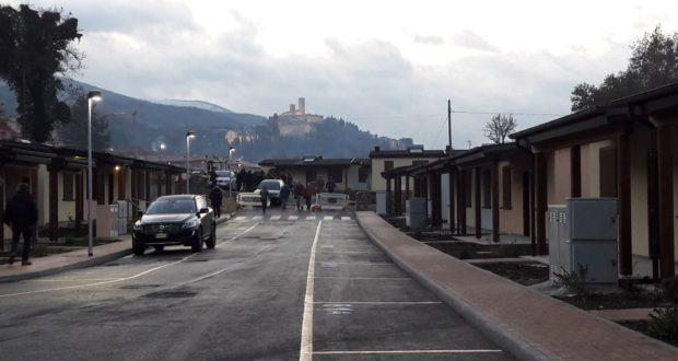 """Il villaggio delle """"Sae"""" al rione San Michele (foto di Fiorino Luciani)"""