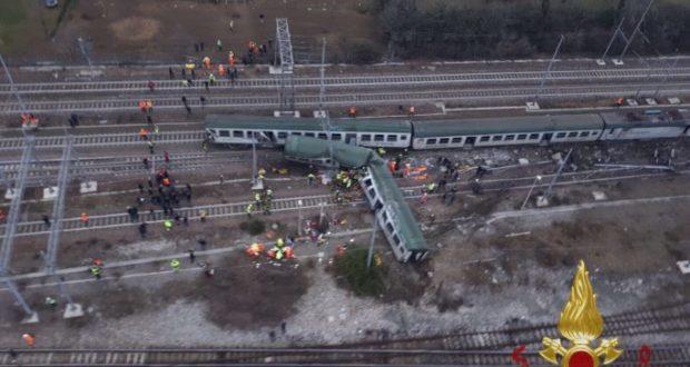L'incidente ferroviario