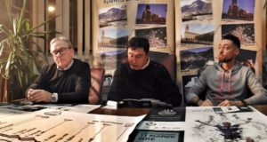 La conferenza stampa di presentazione della tappa