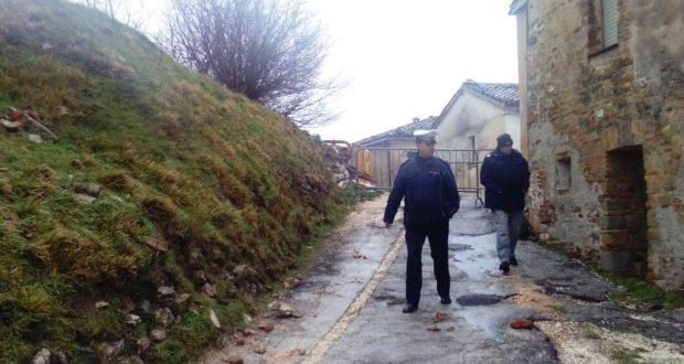 L'intervento di Polizia municipale e Carabinieri Forestali