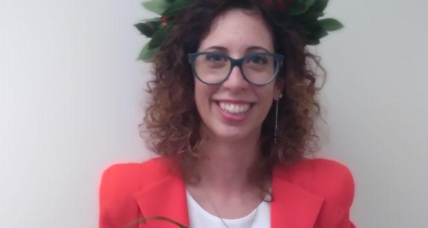 La neodottoressa Mariaconcetta Losurdo