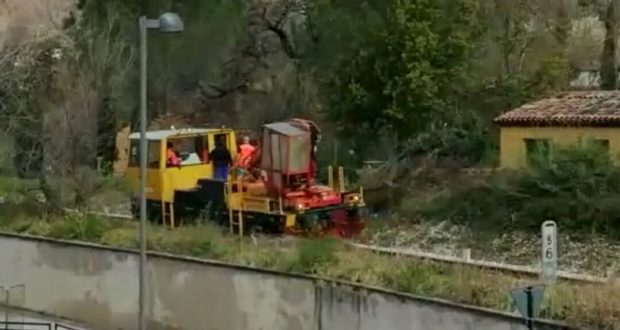 Controlli alla ferrovia nei pressi della Casa di riposo