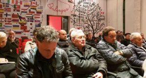 Il pubblico presente al Servanzi Confidati