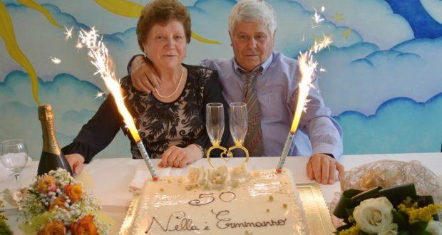 Ermanno e Nella, sposi da 50 anni