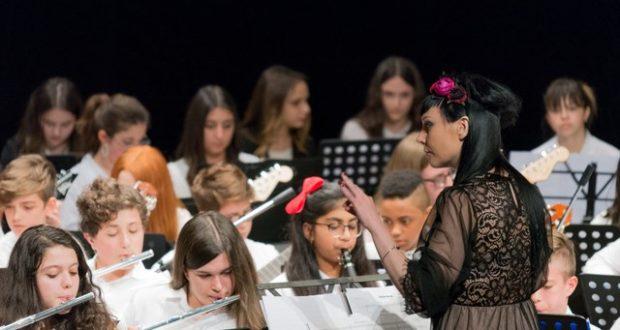 Un momento del concerto al Feronia