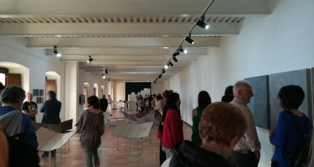 L'inaugurazione della mostra
