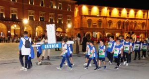 Baby atleti della Villa di Cesolo