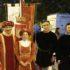 Anche il sindaco Rosa Piermattei e il presidente del Consiglio comunale, Sandro Granata, hanno partecipato in costume d'epoca al Corteo storico in onore del patrono