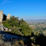 """Ecco lo spettacolare panorama che si può ammirare dalla """"Roccaccia"""" sul monte Acuto"""