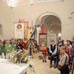 L'assemblea in chiesa per il patrono (foto Serini)