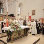 Il vescovo e le autorità a San Lorenzo (foto Serini)