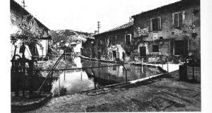 Veduta del Vallato agli inizi del Novecento