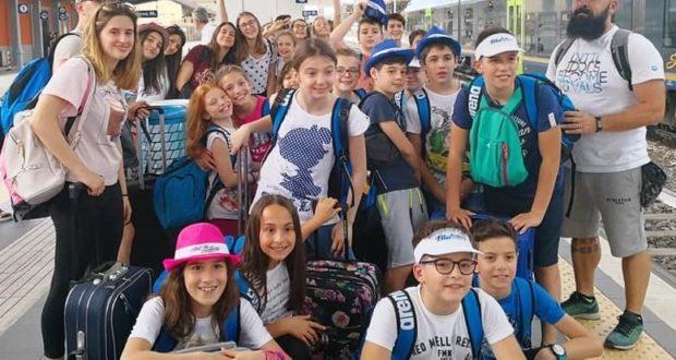 Il gruppo in trasferta a Riccione