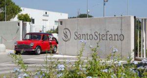 La partenza degli equipaggi dall'Istituto Santo Stefano di Porto Potenza