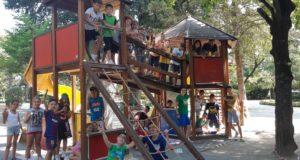 I ragazzi del Summer Campus in azione