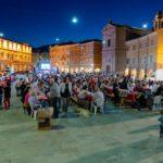 Cena e festa finale in Piazza del Popolo