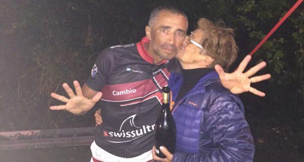 """Chiusa la """"fatica"""" svizzera: Alberto Cambio polverizza il record italiano"""