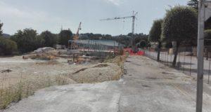 I laboratori Itis in costruzione