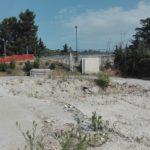 L'area dove sorgeva l'Itis