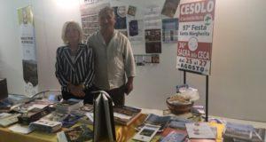 Il vice sindaco Vanna Bianconi e il presidente del Consiglio comunale, Sandro Granata, presenti alla Borsa del turismo del Centro Italia