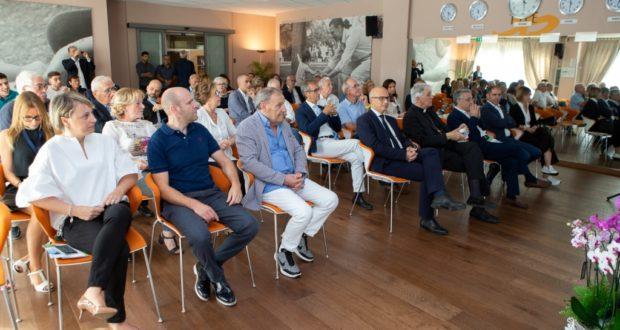 I presenti al convegno organizzato in occasione dell'inaugurazione di tac e Risonanza magnetica (Foto Studio Style)
