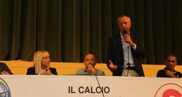 Il discorso dell'assessore Paoloni