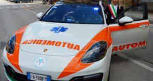 La Porsche del soccorso