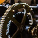 Ingranaggio dell'orologio cdi Cingoli (foto di Luca Mengoni)